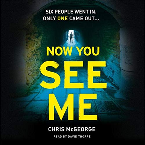 Now You See Me audiobook cover art