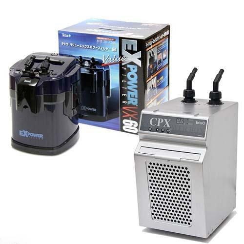テトラ クールパワーボックス CPX-75 水槽用クーラー + バリューエックスパワーフィルター VX-60 外部フィルター