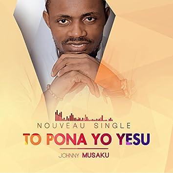 To Pona Yo Yesu