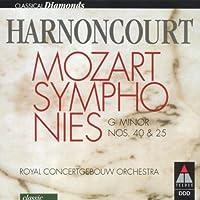Sym.25, 40: Harnoncourt / Concertgebouw.o