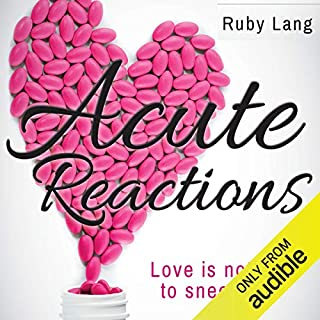 Acute Reactions audiobook cover art