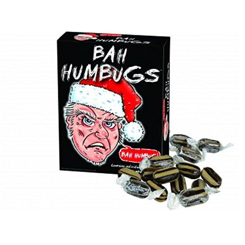 Grumpy Oude Man Bah Humbugs Geheime Kerstman Traditionele Snoepjes Nieuwigheid Vaderdag