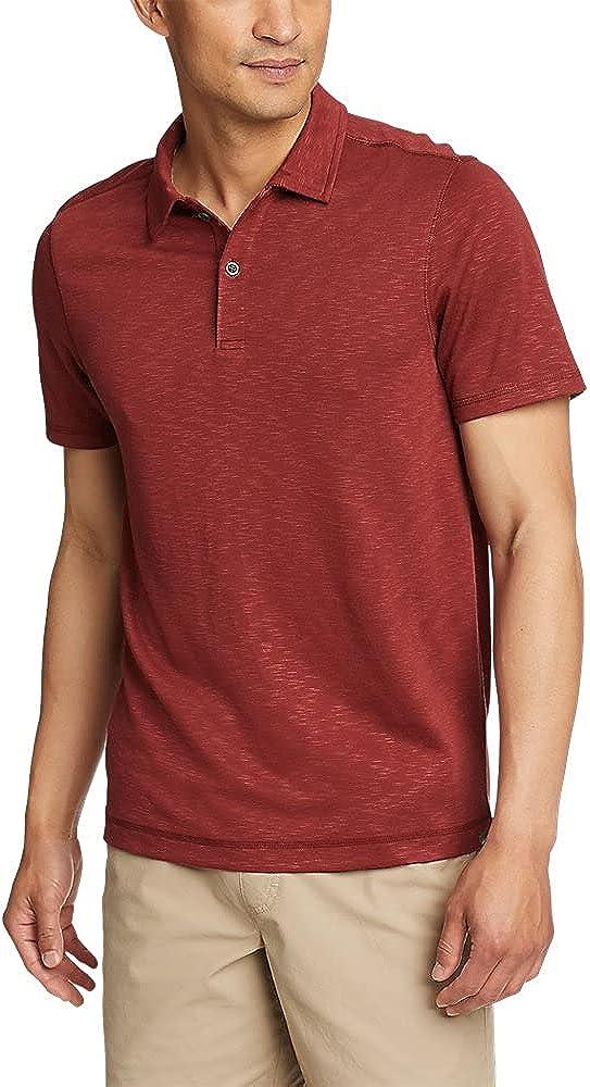 Eddie Bauer Men's Traverse Short-Sleeve Polo Shirt