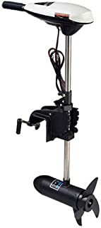 NICE CHOOSE 65LBS Outboard Motor, Electric Trolling Outboard Motor Inflatable 12V 660W Fishing Boats Engine Telescopic (US Shipping)