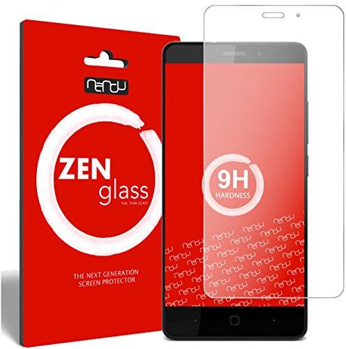 ZenGlass Flexible Glas-Folie kompatibel mit Vernee Thor E Panzerfolie I Bildschirm-Schutzfolie 9H