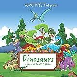 2020 Kid s Calendar: Dinosaurs Vertical Wall Edition