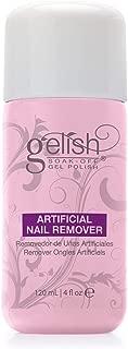 Gelish Artificial Color Soak Off Gel Nail Polish Remover 120mL (4 fl oz)