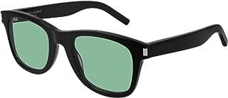 Saint Laurent - Gafas de Sol SL 51 Black/Green 50/22/140 hombre
