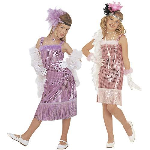 Robe Charleston violet enfant
