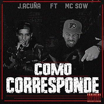 Como Corresponde (feat. J Acuña)