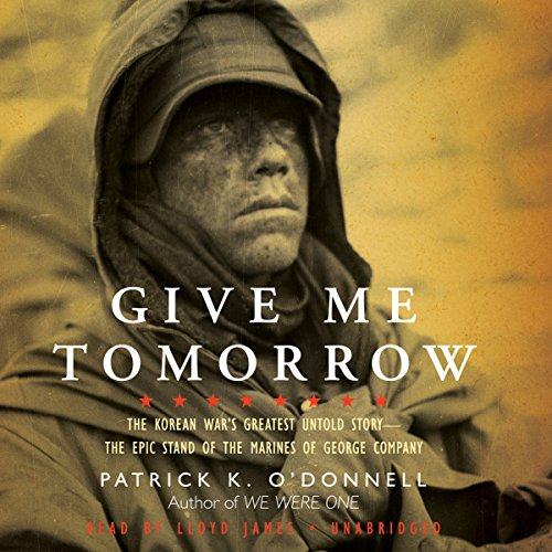 Give Me Tomorrow audiobook cover art