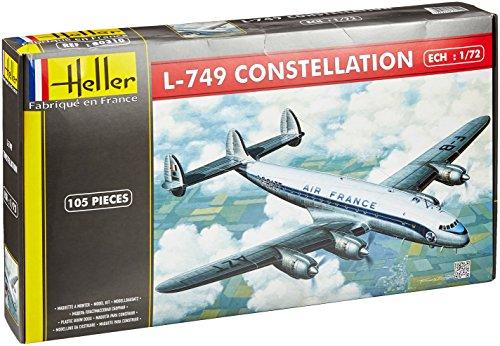 Heller 80310 L-749 Konstellation Air France Modellbausatz, Maßstab 1:72