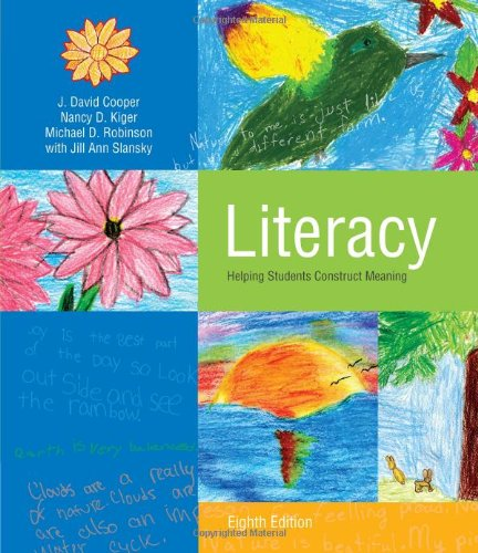 Literacy: Helping Students Construct Meaning (What's...