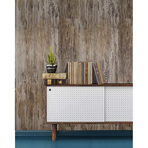 Rustic Brown Wood Grain Wallpaper Wood Contact Paper 17 7 X 78 7 Wood Stick Removable Decorative Peel And Stick Wallpaper Vintage Self Adhesive Wallpaper Reclaimed Vinyl Film Wood Look Wall Covering Buy Online In Colombia
