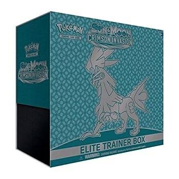 Pokemon Sun and Moon Crimson Invasion Elite Trainer Box Collectible Cards Multicolor  820650802607-1