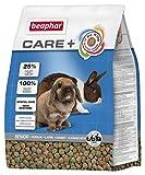 beaphar Care+ Kaninchen Senior | Kaninchenfutter ab dem 6. Lebensjahr | Niedriger Protein- & Kalzium-Gehalt | Mit 25% Rohfaser | 1,5 kg