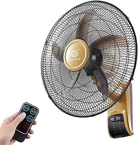 TANKKWEQ Ventilador de pared oscilante, ventiladores soleados Ventilador de pared oscilante de alta velocidad de alta velocidad de alta velocidad con control remoto y temporizador incorporado, 18 pulg