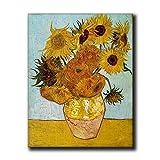 Vincent Van Gogh Leinwand-Kunst, Sonnenblumen-Bilder für
