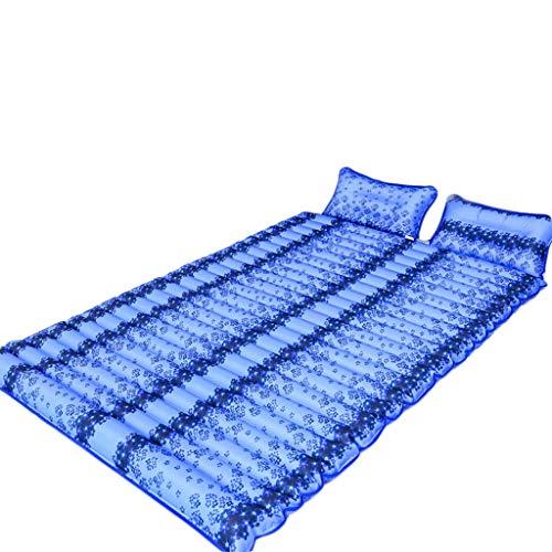 hsj Summer Water Materassino Domestico Acqua Acqua Gonfiabile Acqua Iniezione Ice Pad Ice Cuscino Acqua Dormitorio Materasso per Ghiaccio Protezione Ambientale (Size : 200 * 120cm)