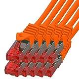 Cable de red BIGtec Gigabit Ethernet (2x RJ45, cat. 5e, cable de conexión UTP, 1000Mbit/s, adecuado para interruptores, conexiones DSL, routers, módems, WAP)