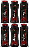 6x MALIZIA UOMO Musk Männer Duschgel & Shampoo 2in1 250ml Duschcreme Shampoo