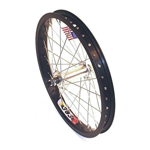 Front Wheel 16X1.75 36H Alloy Black Alex Y303 Rim Nut 3/8 100mm