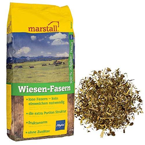 marstall Premium-Pferdefutter Wiesen-Fasern, 1er Pack (1 x 15 kilograms)