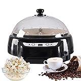 Kacsoo Tostador de café de 220 V, maquina de palomitas de maiz, tostadora de granos, pantalla digital, función de...