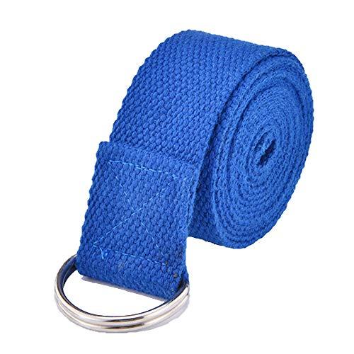 YXXSJB Rallye-Trainingsgürtel Yoga-Gymnastik-Trainingsgerät Unisex-Muskeltrainer Blau 180 * 3.5cm