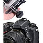 Smatree full aluminum tripod screw to dslr camera flash cold shoe mount adapter compatible for gopro max/9/8/7/6/5/4/3… 12 fully compatible with all versions of gopro cameras. Connect the bottom part of this tripod to the camera hot shoe. (not compatible with cold shoe) convenient to attach your camera to your dslr.