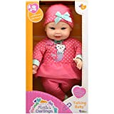Little Darling Talking Baby (3114), 12 Soft body baby doll, 6 different baby sounds. Age 1+