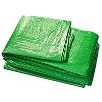 アイレット付き防水ターポリンを厚くする頑丈なタープシート日焼け止めシェード日よけ小屋布