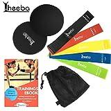 heeba Resistance Hip Bands Multiband Fitness Widerstandsbänder 5er Premium Set