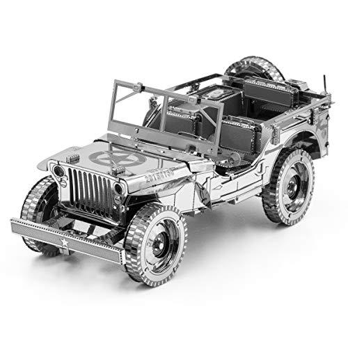 METAL EARTH MAQUETA / PUZZLE 3D De metal. - WILLY'S MB - Monta tus modelos favoritos en casa. (ICX139)