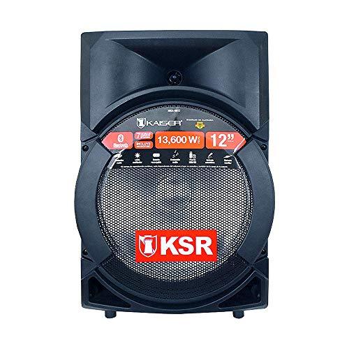 Kaiser Kit de Bafle Profesional Recargable de 12″ MSA-5812. 13,600W PMPO