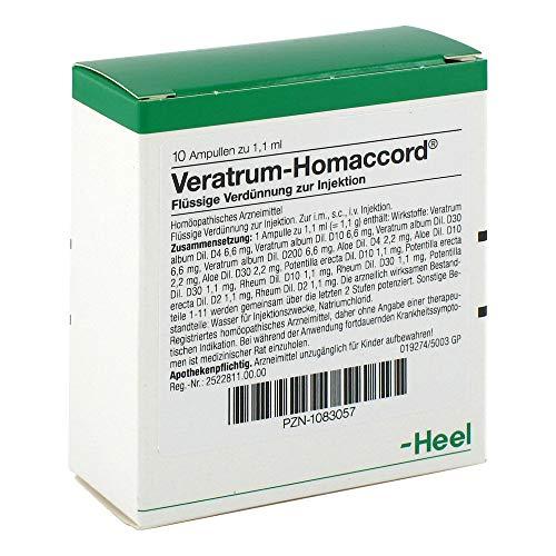VERATRUM HOMACCORD Ampullen 10 St