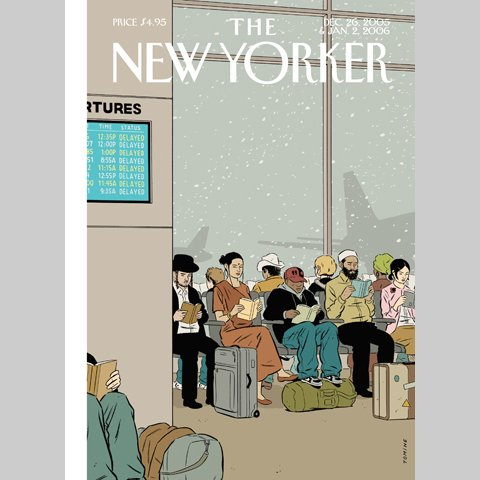 The New Yorker (Dec. 26, 2005 & Jan. 2, 2006) cover art