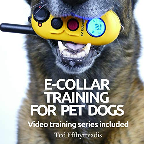 E-Collar Training for Pet Dogs audiobook cover art