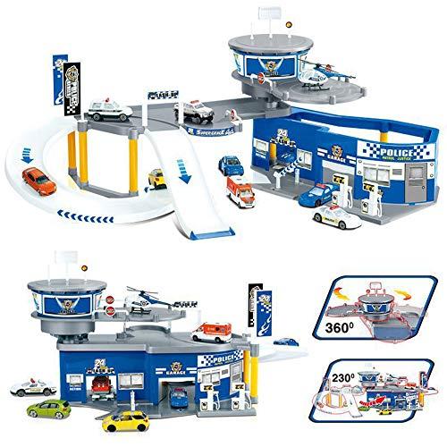 SSRSHDZW Boy Model Car Garage Jeu Parking Lot Enfants Toy Ville Carte du Trafic Assemblée Jouets Éducatifs pour 3-12 Ans Cadeaux d'anniversaire