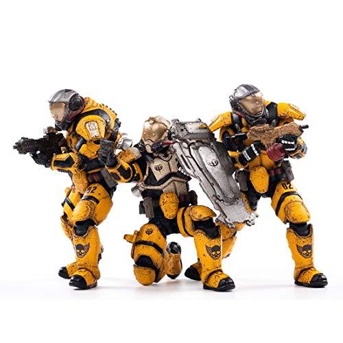 FADY 1:18 Figuren-Set Legion Infanterie, Militärfiguren Spielsets Modelle, Actionfigur Army Men Toy, 10,5 cm Sammelfiguren