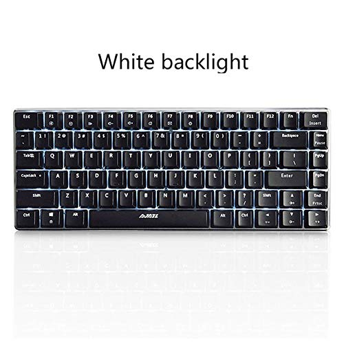 DZSF 82 Key Gaming Mechanische Toetsenbordindeling Backlight USB Bedraad Anti-Ghosting Zwart Switch Pc Gamer
