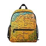 MONTOJ Afrique du Nord pour Sac de Voyage Pliable d'école Sac à Dos