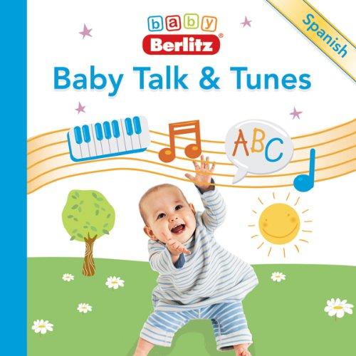 Baby Talk & Tunes Spanish audiobook cover art