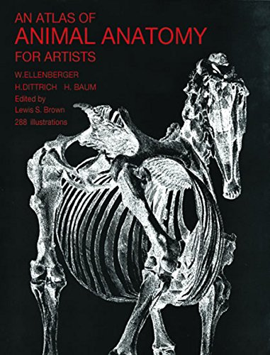 An Atlas of Animal Anatomy for Artists (Dover Anatomy for Artists) (English Edition)