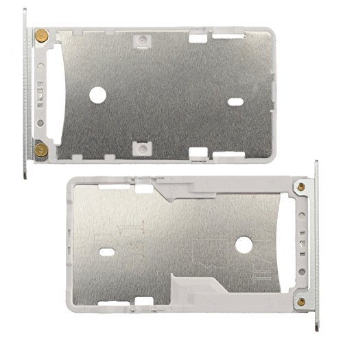 BisLinks for Xiaomi Redmi Note 4X Sim Micro SD Card Tray Holder Slot White Replacement