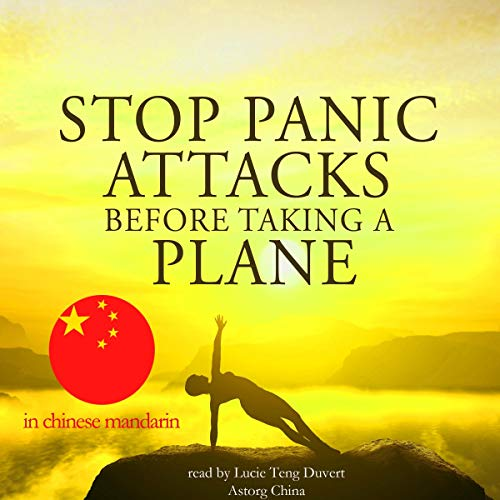 『Stop panic attacks before taking a plane in Chinese Mandarin』のカバーアート