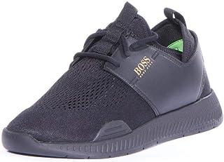 BOSS Hugo Titanium_Runn_act Shoes Men Black, 45 EU