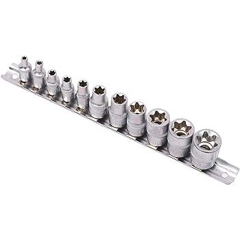 Douille longue à chocs TORX femelles 1//2 12mm