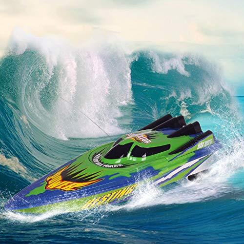 MEILINL Barco RC de Doble Motor con Batería Control Remoto Barcos para...