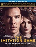 The Imitation Game (Blu-ray Disc, 2015, No Digital) NEW